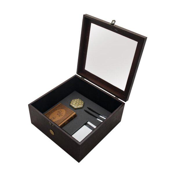 ست هدیه خاص جعبه سکه خاتم کاری